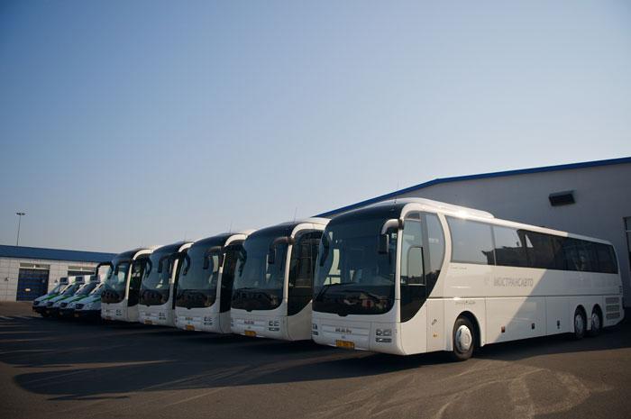 автобуса «Москва-Рязань» в