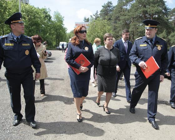 Госадмтехнадзор проверил, как ОАО «РЖД» устраняет нарушения на своих объектах в Истре